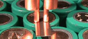 バッテリー溶接のサンプル例 その1