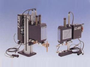エア駆動式ユニットEZ-AIRのマウントにより過加圧、加圧不足を解消。