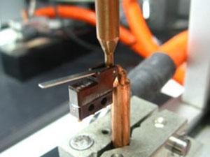 スポット溶接の一例