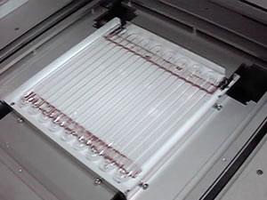 特殊平面状水銀ランプ