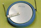 溶接事例:リチウムイオンコイン電池