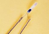 溶接事例:デバイス脚部と端子