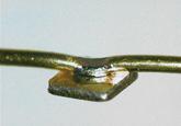 溶接事例:ワイヤとチップ